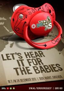 Officiële 3FMSR12 poster